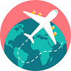 Travel apps icon